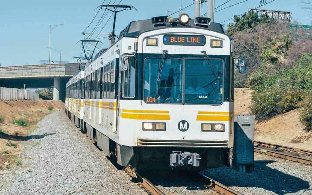 California Los Angeles Metro Blue Line